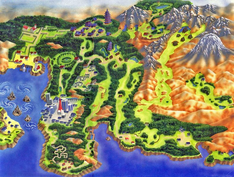 Connecting people... Johto