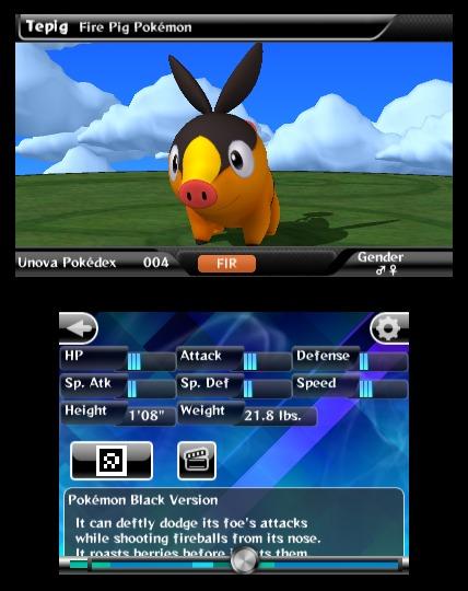 Pokédex 3D, nueva aplicación para Nintendo 3DS 1