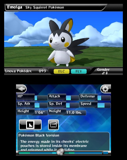 Pokédex 3D, nueva aplicación para Nintendo 3DS 3