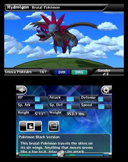 Pokédex 3D, nueva aplicación para Nintendo 3DS 4
