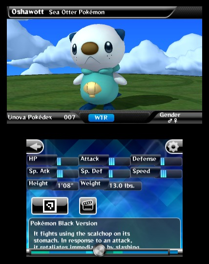Pokédex 3D, nueva aplicación para Nintendo 3DS 5
