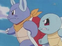 La guerra de agua Pokémon