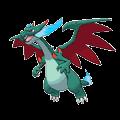 #006 Mega Charizard X Shiny