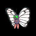 #012 Butterfree Shiny