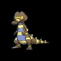 #552 Krokorok Shiny