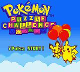 Descargar el ROM de Pokémon Puzzle Challenge