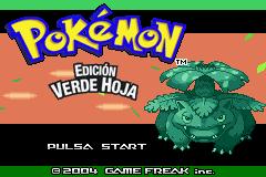 Descargar el ROM de Pokémon Verde Hoja