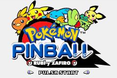 Descargar el ROM de Pokémon Pinball: Rubí y Zafiro