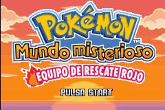 Descargar el ROM de Pokémon Mundo Misterioso: Equipo de Rescate Rojo