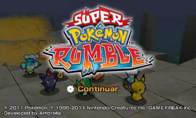 Descargar el ROM de Súper Pokémon Rumble