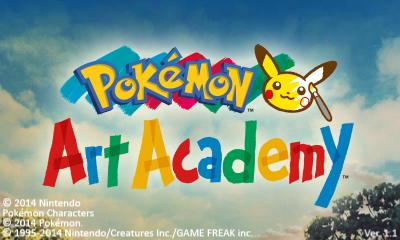 Descargar el ROM de Pokémon Art Academy