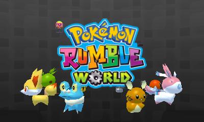 Descargar el ROM de Pokémon Rumble World