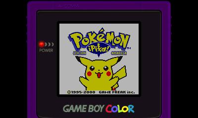 Descargar el ROM de Pokémon Amarillo (Consola Virtual)