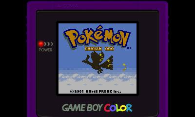 Descargar el ROM de Pokémon Oro (Consola Virtual)