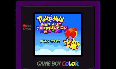 Descargar el ROM de Pokémon Puzzle Challenge (Consola Virtual)