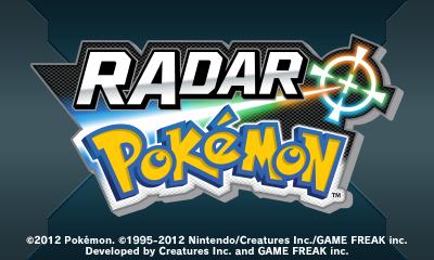 Descargar el ROM de RAdar Pokémon