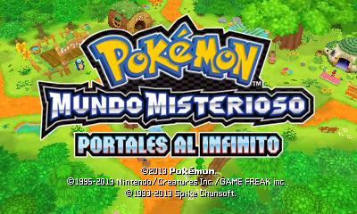 Descargar el ROM de (DLC) Pokémon Mundo Misterioso: Portales al Infinito