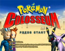 Descargar el ROM de Pokémon Colosseum