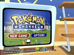 Descargar el ROM de Pokémon Channel