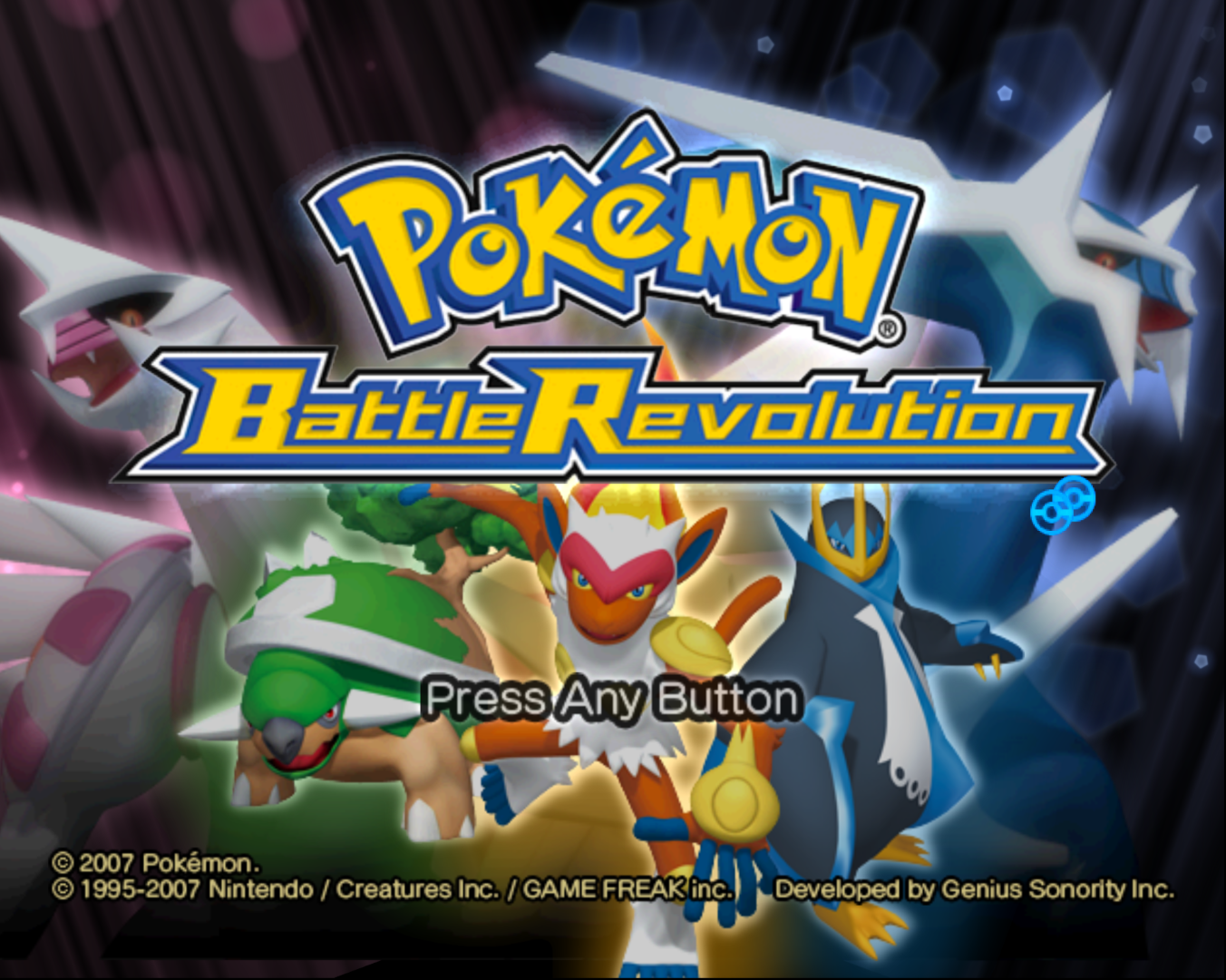 Descargar el ROM de Pokémon Battle Revolution