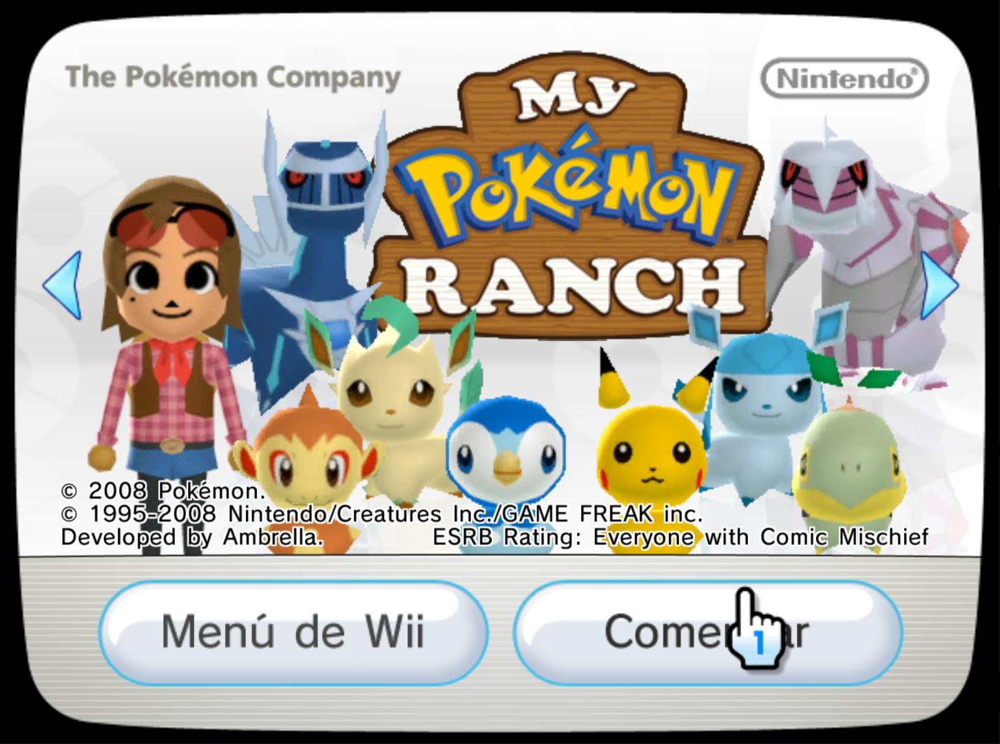 Descargar el ROM de My Pokémon Ranch