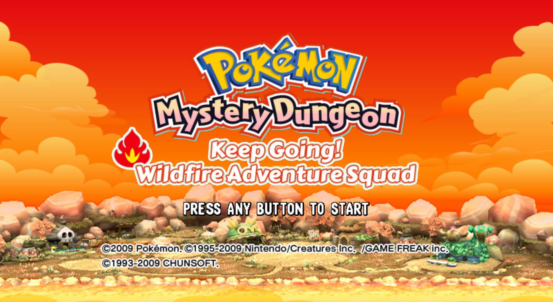 Descargar el ROM de Pokemon Fushigi no Dungeon - Susume! Honou no Boukendan