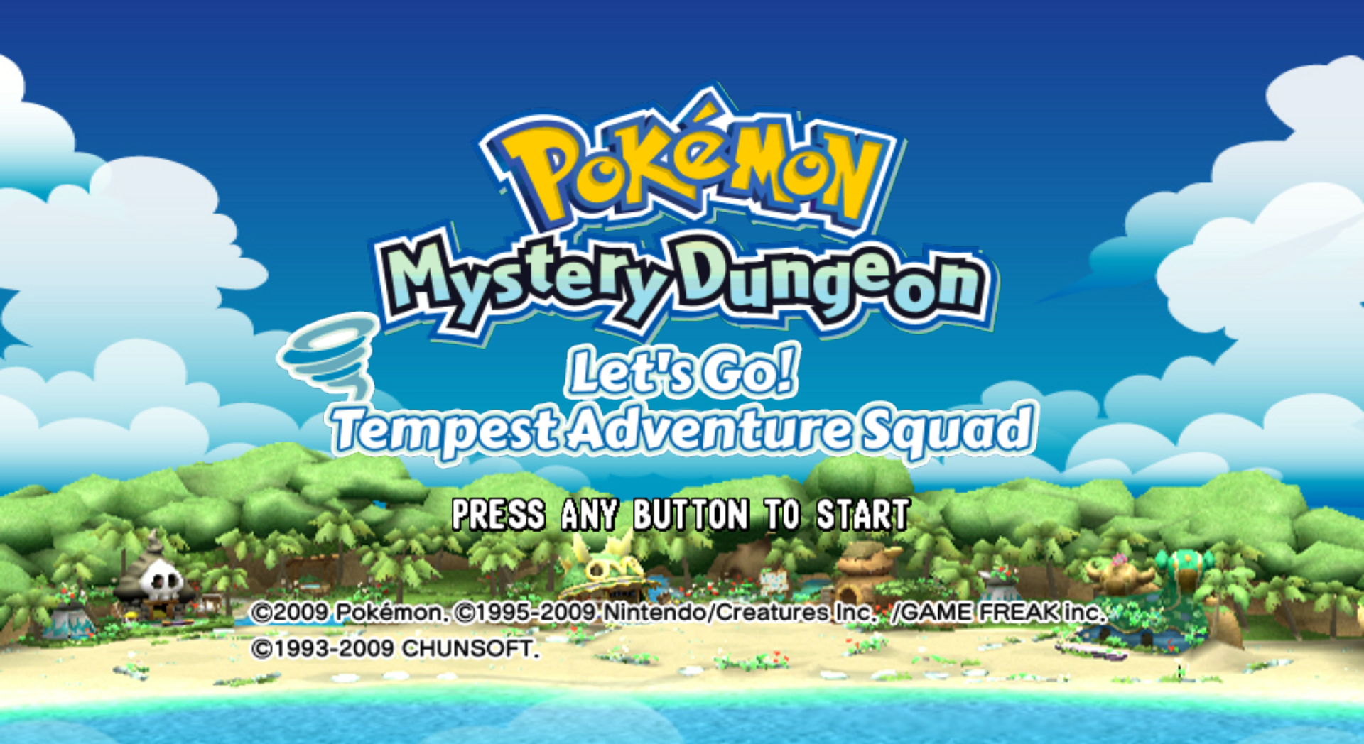 Descargar el ROM de Pokemon Fushigi no Dungeon - Ikuzo! Arashi no Boukendan