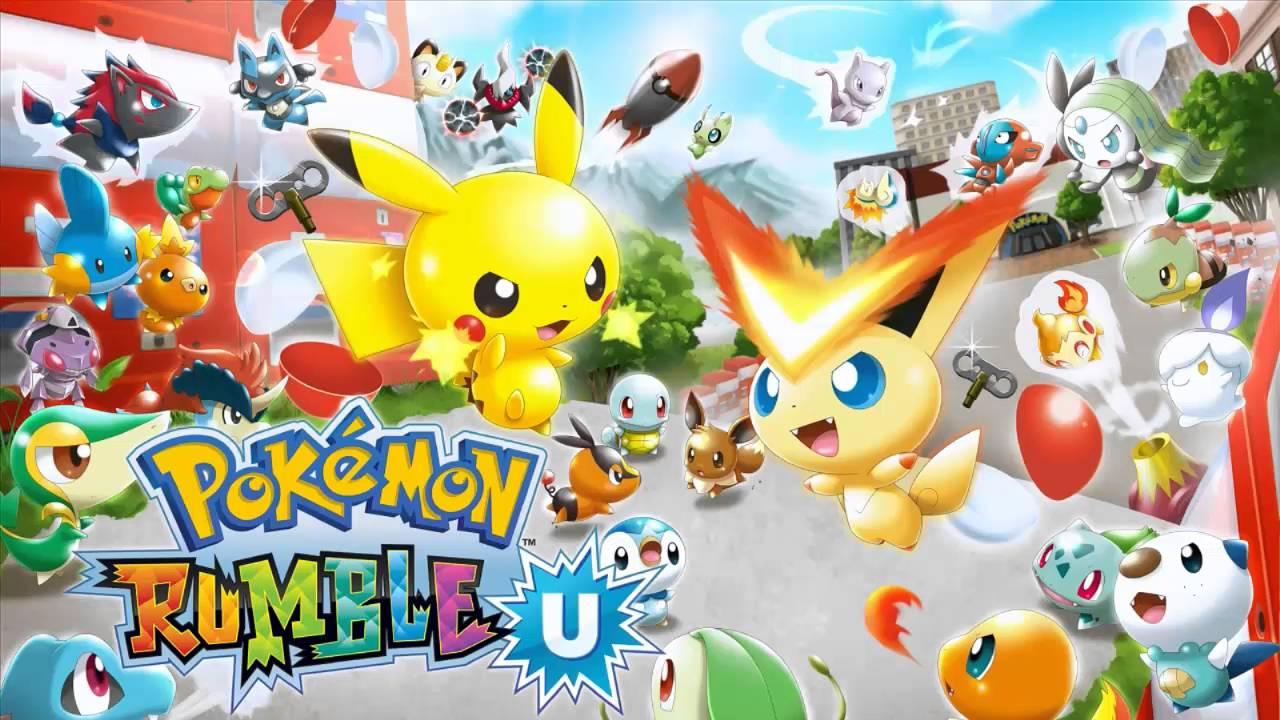 Descargar el ROM de Pokémon Rumble U