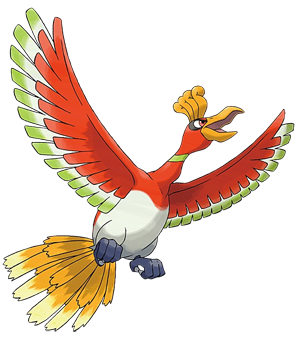 Ho-oh Artwork