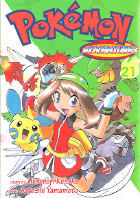 Pokémon Adventures - Volumen 21