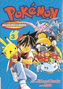 Pokémon Adventures - Volumen 3