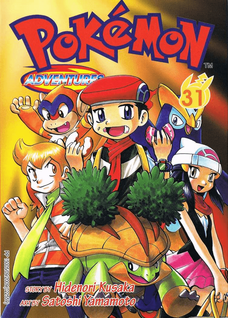 Pokémon Adventures - Volumen 31