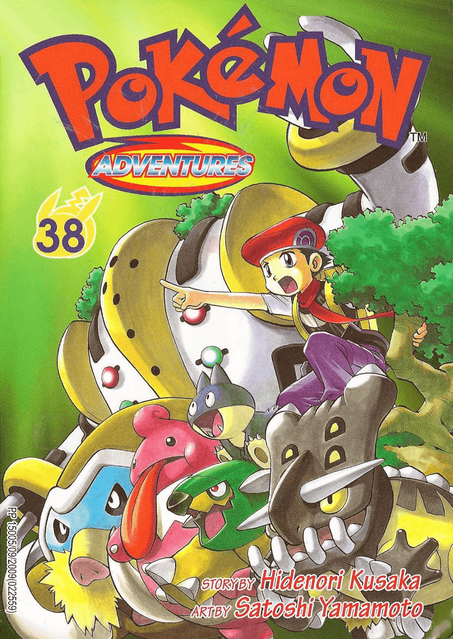 Pokémon Adventures - Volumen 38
