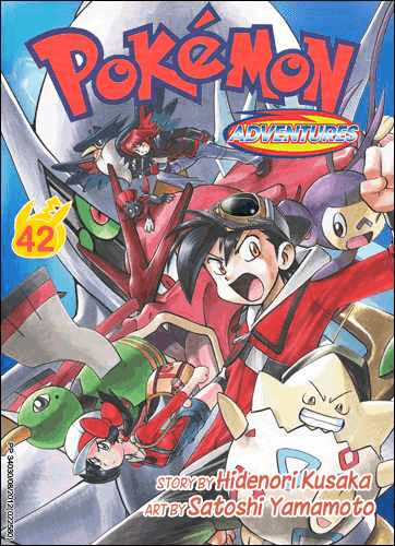 Pokémon Adventures - Volumen 42