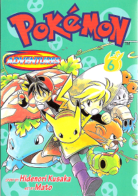 Pokémon Adventures - Volumen 6