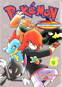 Pokémon Adventures - Volumen 9