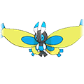 #414 Mothim Shiny