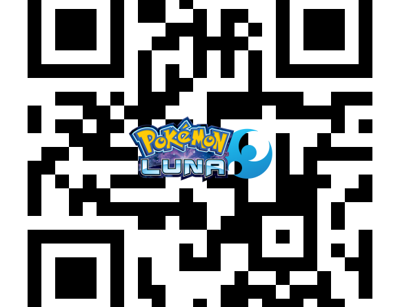 QR Code Actualizacion Pokémon Sol y Luna