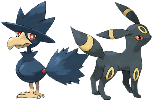 Murkrow y Umbreon