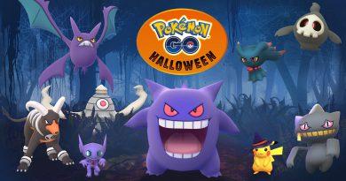 Halloween 2017 Pokémon GO