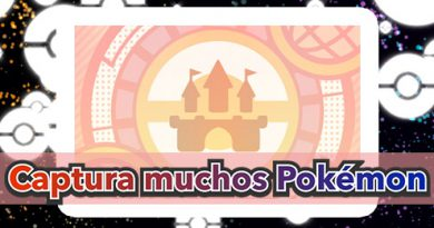 Minijuego global Captura muchos Pokémon