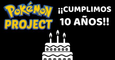 10 Aniversario Pokémon Project