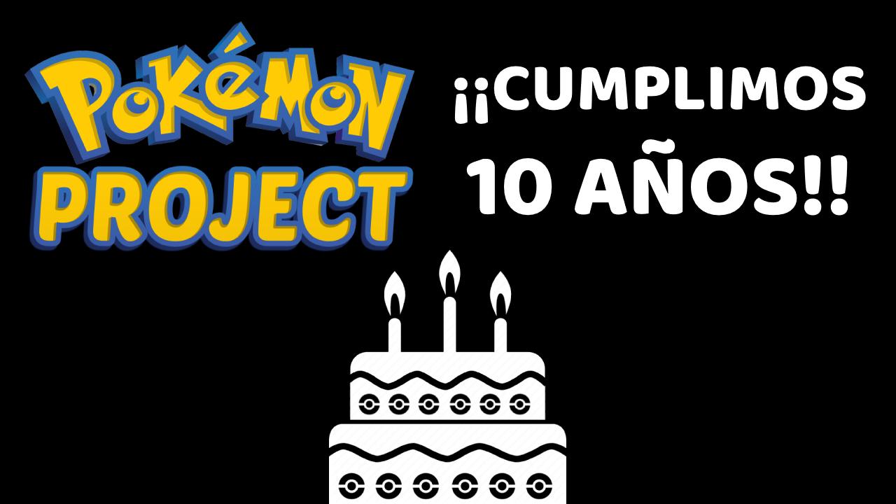 Pokemon Project Celebra 10o Aniversario