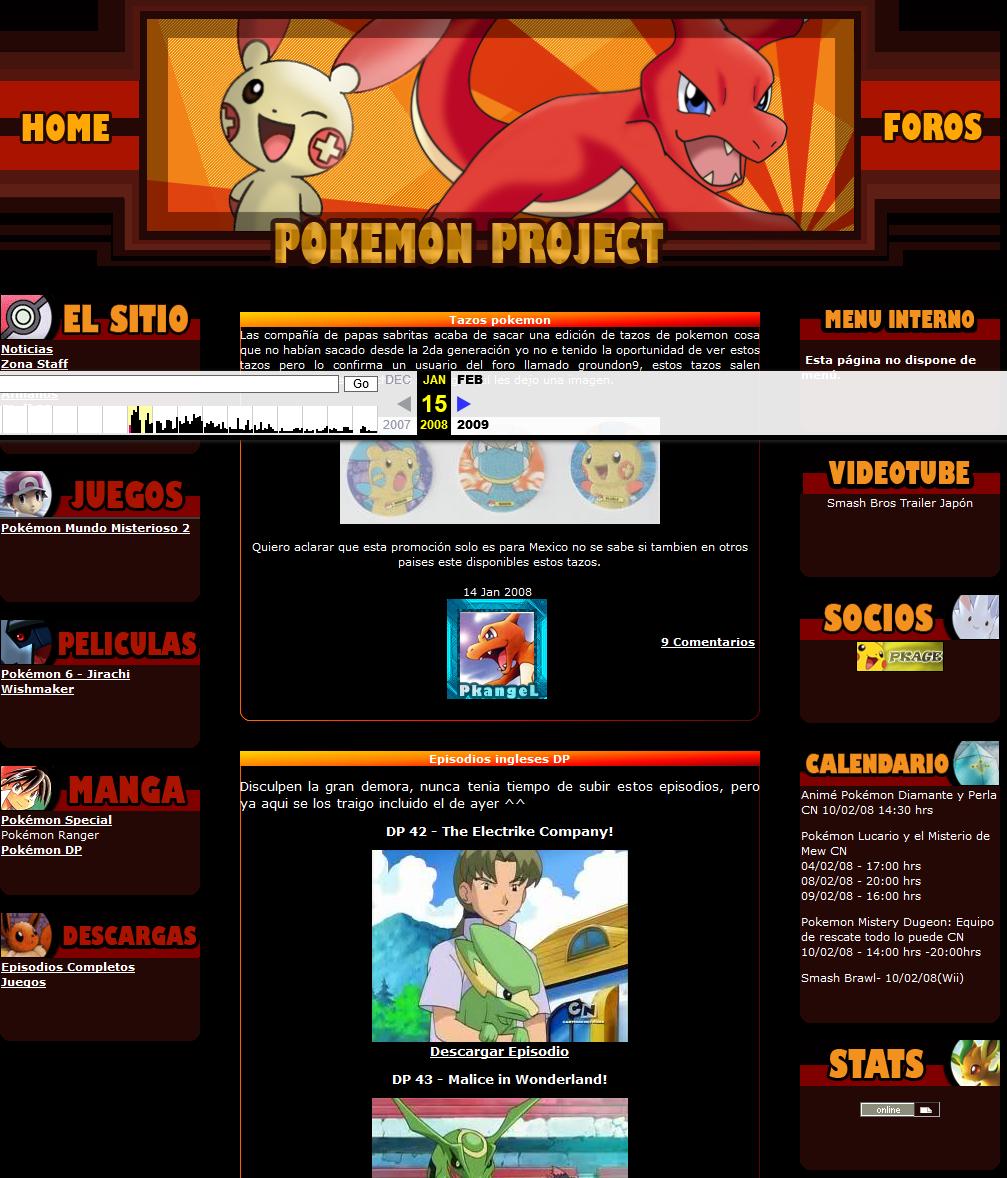 Pokémon Project V1