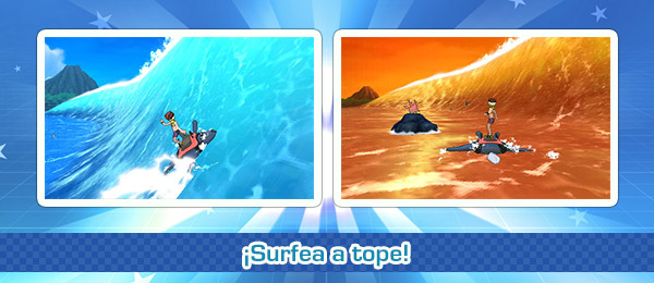 Minijuego Global «Surfea a tope»