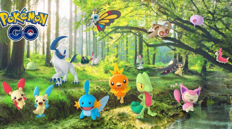 Hoenn llega a Pokémon GO