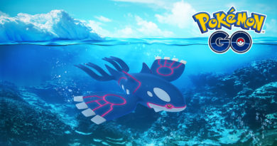 Kyogre en Pokémon GO