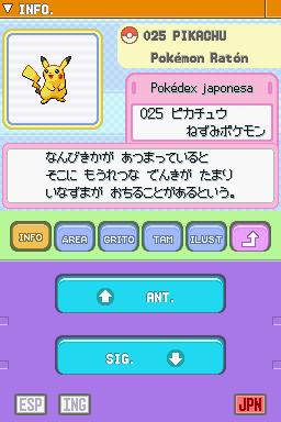 Pokémon Diamante y Perla » Pokémon Project