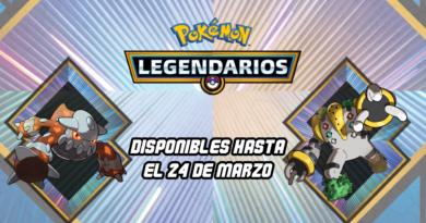 Pokémon Legendarios 2018 Marzo - Heatran y Regigigas
