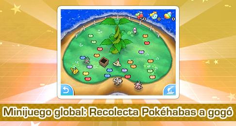Minijuego Global: Recolecta Pokéhabas a gogó